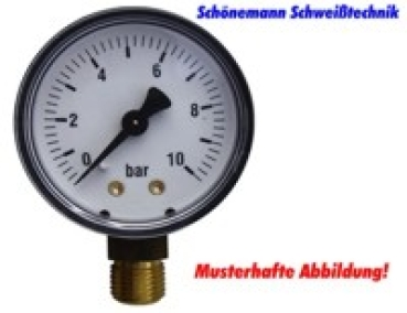 Manometer Neutral 0-1,5/2,5 bar